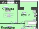 1к. квартира 8/12/Ц в новобудові ЖК Форест